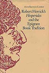 Robert Herrick's Hesperides and the Epigram Book TraditionCoiro, Ann Baynes - Product Image