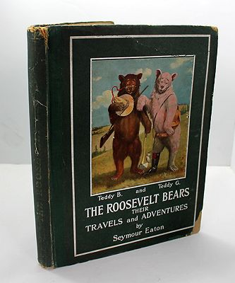 Roosevelt Bears, The - Their Travels and AdventuresEaton (Paul Pipes), Seymour, Illust. by: V. Floyd Campbell - Product Image