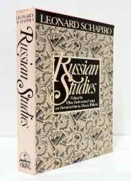Russian StudiesSchapiro, Leonard Bertram - Product Image