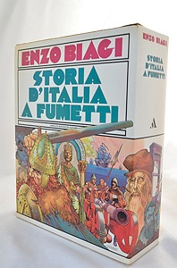 STORIA D'ITALIA A FUMETTI- VOL. I, II, III DAI BARBARI AI CAPITANI DI VENTURA- DA COLOMBO ALLA RIVOLUZIONE FRANCESE- DA NAPOLEONE ALLA REPUBBLICA ITALIANA (3 Volumes)Biagi, Enzo - Product Image
