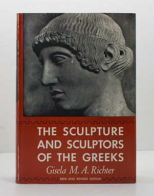 Sculpture and Sculptors of the Greeks, The Richter, Gisela M. A.  - Product Image