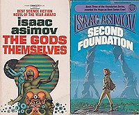 Second Foundation, The Gods themselves, Forward the Foundation, Foundation's Edge (4 paperback novels)Asimov, Isaac - Product Image