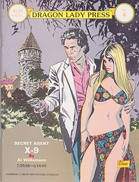 Secret Agent X-9:  7/29/68 -6/14/69 Dragon Lady Productions No. 4Williamson, Al and Archie Goodwin     - Product Image