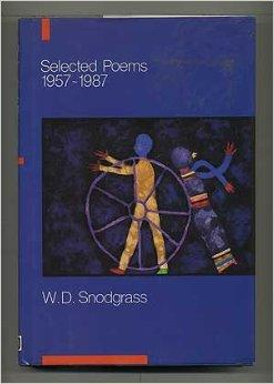 Selected Poems, 1957-1987Snodgrass, W. D. - Product Image