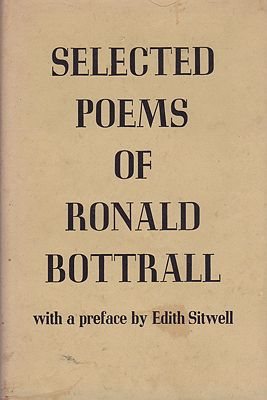 Selected Poems of Ronald Bottrall (SIGNED COPY)Bottrall, Ronald - Product Image
