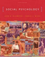 Social PsychologyDeLamater, John D. - Product Image