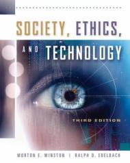 Society, Ethics, and TechnologyWinston, Morton - Product Image