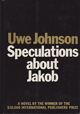 Speculations About JakobJohnson, Uwe - Product Image