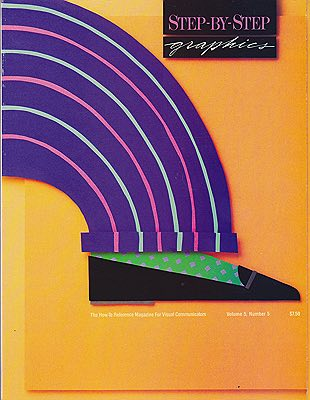 Step-By-Step Graphics - Vol. 5 No. 5 - July/August 1989Nancy Stahl, Arthur Rackham  - Product Image