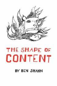 The Shape of ContentShahn, Ben - Product Image