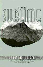 The Sublime: PoemsHolden, Jonathan - Product Image