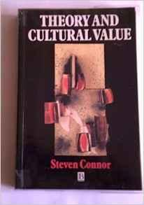 Theory and Cultural ValueConnor, Steven - Product Image