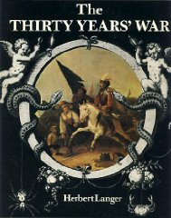 Thirty Years WarLanger, Herbert - Product Image