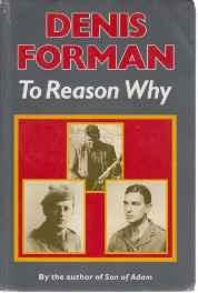 To Reason WhyForman, Denis - Product Image