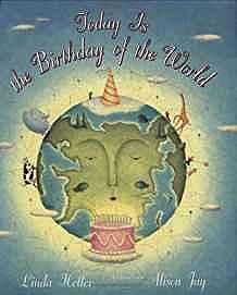 Today is the Birthday of the WorldHeller, Linda, Illust. by: Alison Jay - Product Image