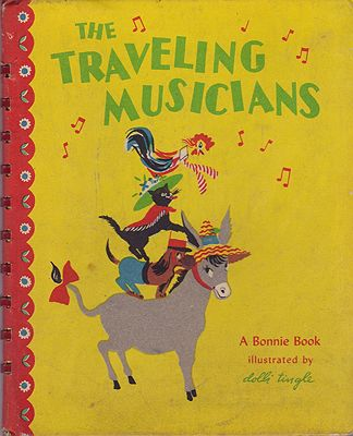 Traveling Musicians, TheTingle, Dolli, Illust. by: Dolli  Tingle - Product Image