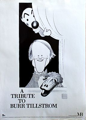 Tribute to Burr Tillstrom, A (Museum of Broadcasting Poster)Hirschfeld, Al, Illust. by: Al  Hirschfeld - Product Image