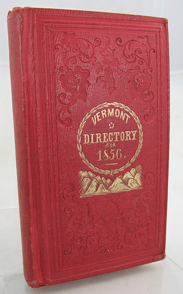 Vermont Directory and Commercial Almanac 1856, TheAtwater, W. W. - Product Image