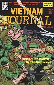 Vietnam Journal No. 3: Scorched EarthLomax, Don, Illust. by: Don  Lomax - Product Image