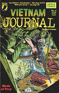 Vietnam Journal No. 4: Birds of PreyLomax, Don, Illust. by: Don  Lomax - Product Image