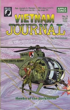 Vietnam Journal No. 5: Hawks of the DarkhorseLomax, Don, Illust. by: Don  Lomax - Product Image
