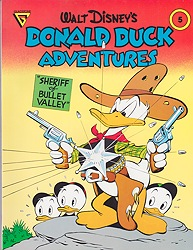 Walt Disney's Donald Duck Adventures: Sheriff of Bullet Valley (Gladstone Comic Album Series No. 5)Barks(Walt Disney), Carl, Illust. by: Carl  Barks - Product Image