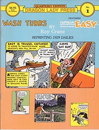Wash Tubbs featuring Captain Easy No. 1: Reprinting 1929 dailiesCrane, Roy, Illust. by: V.T.  Hamlin - Product Image