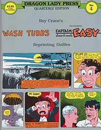 Wash Tubbs featuring Captain Easy No. 4: Wash Tubbs in Riches to Rags (1/1/31-7/3/31)Crane, Roy, Illust. by: Roy  Crane - Product Image