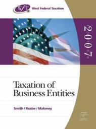 West Federal Taxation 2007: Business Entities, Professional Edition (Book Only/No Software)Smith, James E. - Product Image