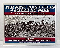 West Point Atlas of American Wars - Revised & Updated - 2 Volumes, TheEsposito, Brigadier General Vincent J. - Product Image