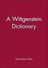 Wittgenstein Dictionary, A Glock, Hans-Johann - Product Image