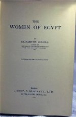 Women of Egypt, Theby: Cooper, Elizabeth - Product Image