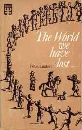 World We Have LostLaslett, Peter - Product Image